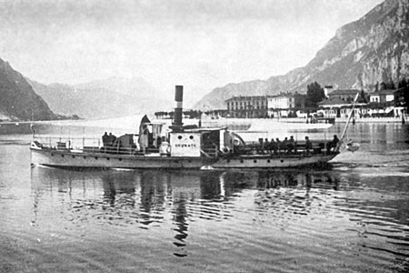 BRUNATE 1896 - Lago di Como - www.simplonpc.co.uk