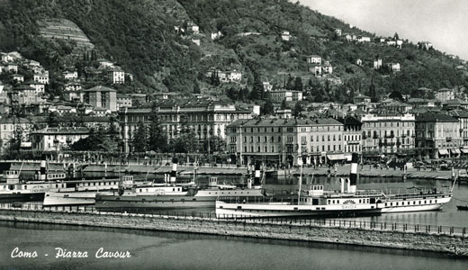 COMMERCIO 1903 - ex-PLINIO-2 1892 - Lago di Como - www.simplonpc.co.uk