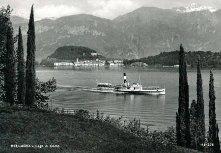 SAVOIA 1926 (later PATRIA) - Lago di Como - www.simplonpc.co.uk