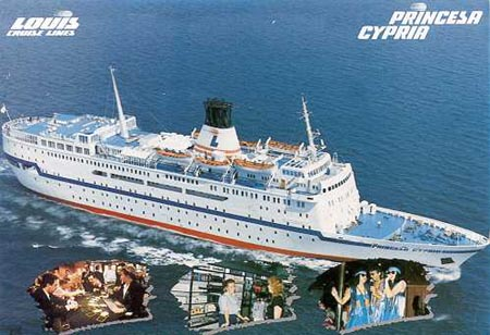Princesa Cypria -  Louis Cruise Lines - www.simplonpc.co.uk