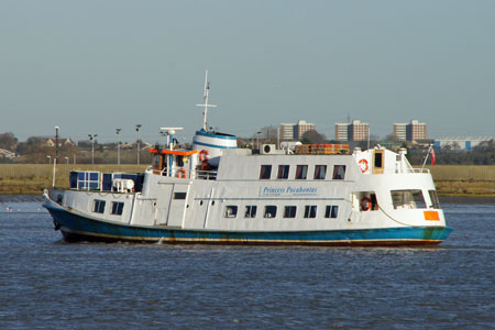 PRINCESS POCAHONTAS - Lower Thames & Medway - Photo: © Ian Boyle, 20th December 2011 - www.simplonpc.co.uk