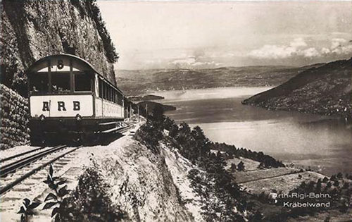 Arth-Rigi Bahn - www.simplonpc.co.uk - Simplon Postcards