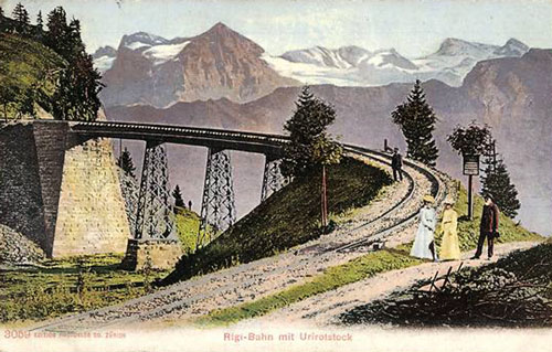 Rigi-Scheiddegg Bahn - www.simplonpc.co.uk - Simplon Postcards