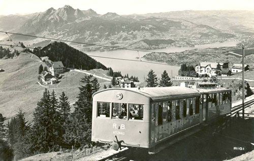 Vitznau-Rigi Bahn - www.simplonpc.co.uk - Simplon Postcards