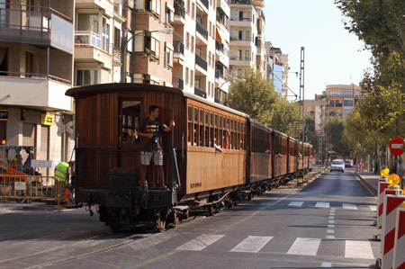 Loco No.1 at Palma - Photo: © Ian Boyle, 26th August 2009 - simplonpc.co.uk