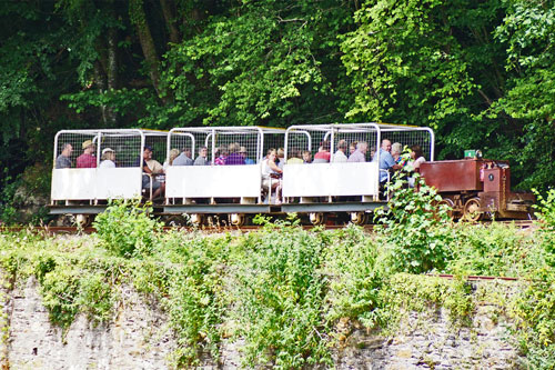Morwellham Mine Railway - Photo: © Ian Boyle, 29th June 2015 - www.simplonpc.co.uk