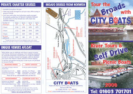 NORWICH CITY BOATS BROCHURE - www.simplonpc.co.uk