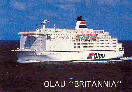 Olau Line Ferry Postcards