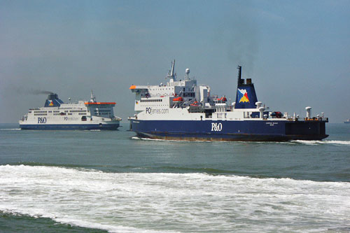 EUROPEAN SEAWAY - P&O Ferries - Photo: �2003 Ian Boyle - www.simplonpc.co.uk