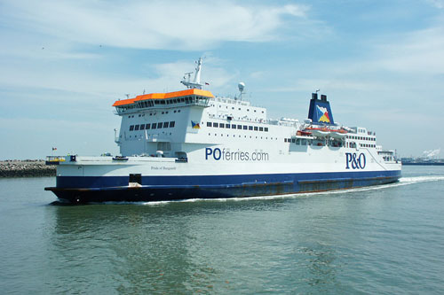 PRIDE OF CALAIS - P&O Ferries - Photo: �2003 Ian Boyle - www.simplonpc.co.uk