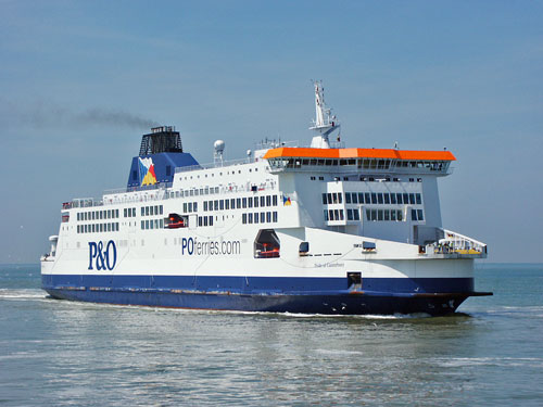 PRIDE OF CANTERBURY - P&O Ferries - Photo: �2003 Ian Boyle - www.simplonpc.co.uk