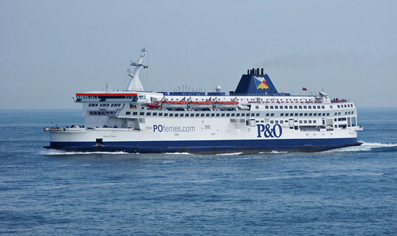 PRIDE OF DOVER - P&O Ferries - Photo: �2003 Ian Boyle - www.simplonpc.co.uk
