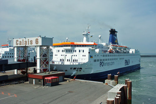 PRIDE OF PROVENCE - P&O Ferries - Photo: �2003 Ian Boyle - www.simplonpc.co.uk