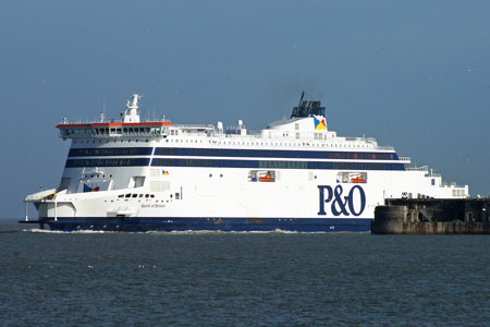 SPIRIT OF BRITAIN - P&O Ferries - www.simplonpc.co.uk