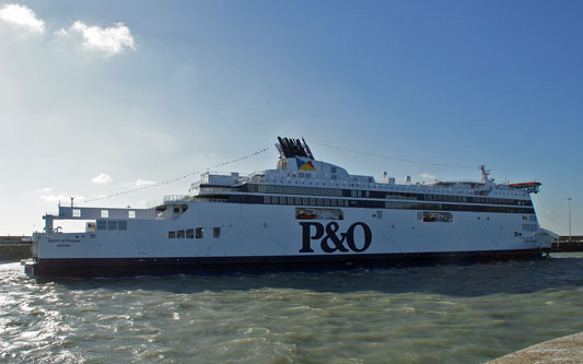 SPIRIT OF FRANCE - P&O Ferries - www.simplonpc.co.uk