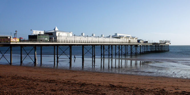 Paignton Pier - Photo: ©Ian Boyle 1st March 2015