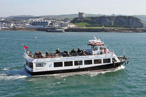 PLYMOUTH SOUND - Plymouth Boat Trips - Photo: ©2012 Ian Boyle - www.simplonpc.co.uk