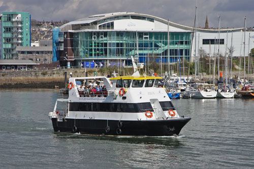 SPIRIT OF PLYMOUTH - Plymouth Boat Trips - Photo: ©2013 Ian Boyle - www.simplonpc.co.uk