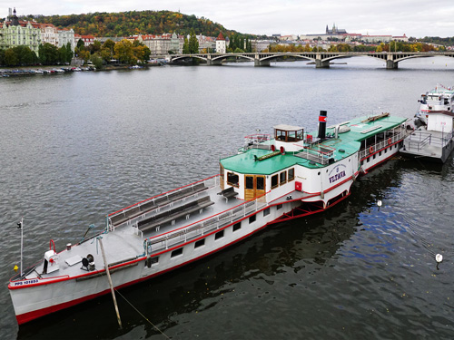 VLTAVA - Prague Steamboat Co - www.simplonpc.co.uk