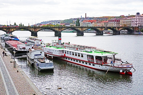 VYSEHRAD - Prague Steamboat Co - www.simplonpc.co.uk