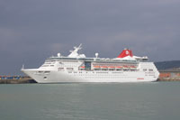Empress (Pullmantur) at Dover - Photo: © Ian Boyle, 7th May 2010