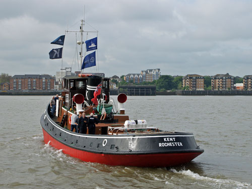 KENT - South Eastern Tug Society - Photo: © Ian Boyle, 1st June 2012 - www.simplonpc.co.uk