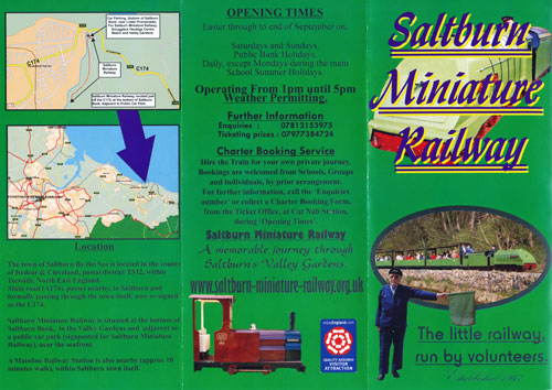 Saltburn Miniature Railway - www.simplonpc.co.uk