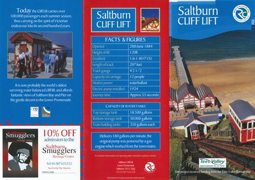 Saltburn Pier & Cliff Lift - EAST COAST PIERS - www.simplonpc.co.uk