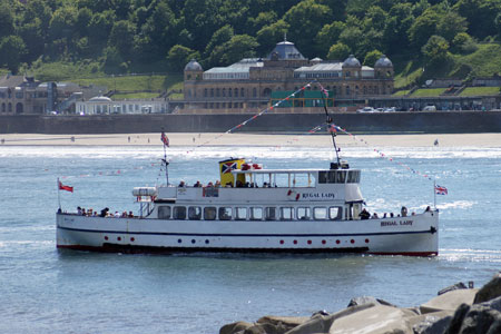 REGAL LADY at Scarborough - Photo: � Ian Boyle, 15th June 2010 - www.simplonpc.co.uk