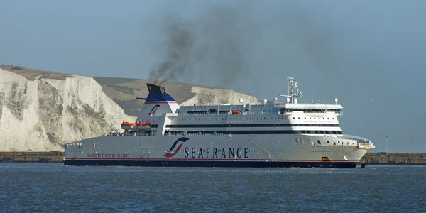SEAFRANCE MOLIERE - Photo: © Ian Boyle, 3rd February 2011 - SIMPLON POSTCARDS - www.simplonpc.co.uk