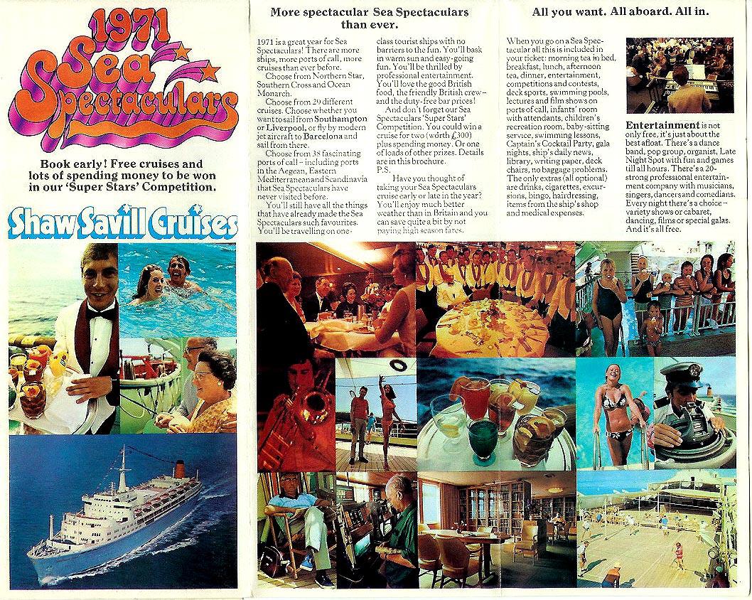 Shaw Savill Line Ocean Liner Postcards Page 4