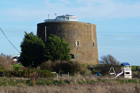 Martello Tower AA - Shingle Street, Suffolk - Photo: © Ian Boyle, 5th December 2009 - www.simplonpc.co.uk