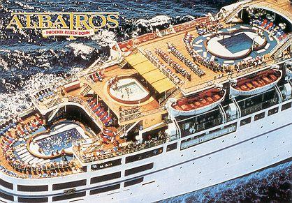 City Of Sylvania >> Sylvania - Fairwind - Sitmar Fairwind - Dawn Princess - Albatros - Ocean Liner and Cruise Ship ...