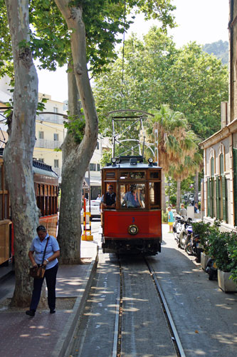 Sóller Tramway - Photo: ©2013 Ian Boyle - simplonpc.co.uk - Simplon Postcards