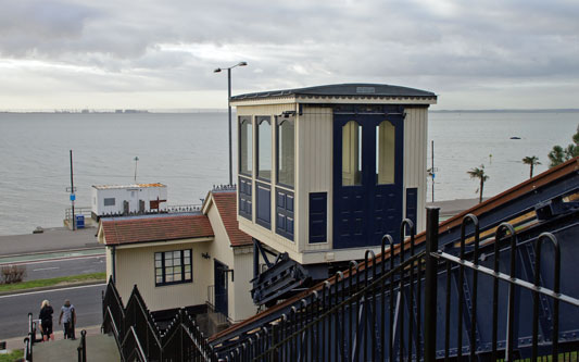 SOUTHEND FUNICULAR - Photo: ©2012 Ian Boyle - www.simplonpc.co.uk - Simplon Postcards