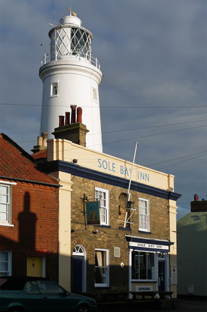 Southwold Lighthouse - Photo: � Ian Boyle, 4th December 2009