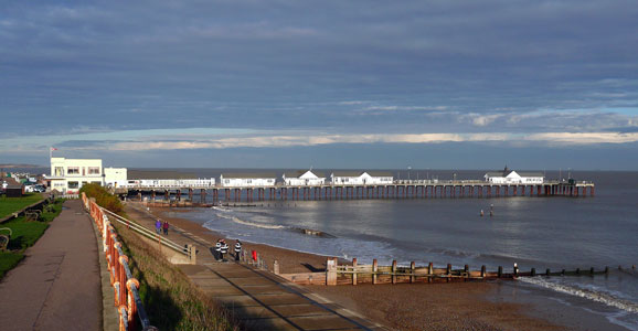 Southwold Pier - Photo: � Ian Boyle, 4th December 2009