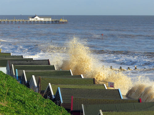 Southwold Pier - Photo: � Ian Boyle, 5th December 2013