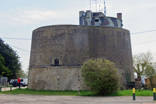 Martello Tower A - Photo: ©2013 Ian Boyle - www.simplonpc.co.uk