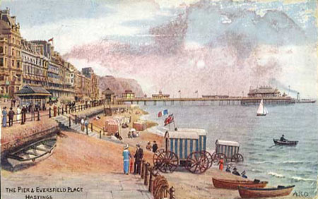 HASTINGS PIER POSTCARD - www.simplonpc.co.uk
