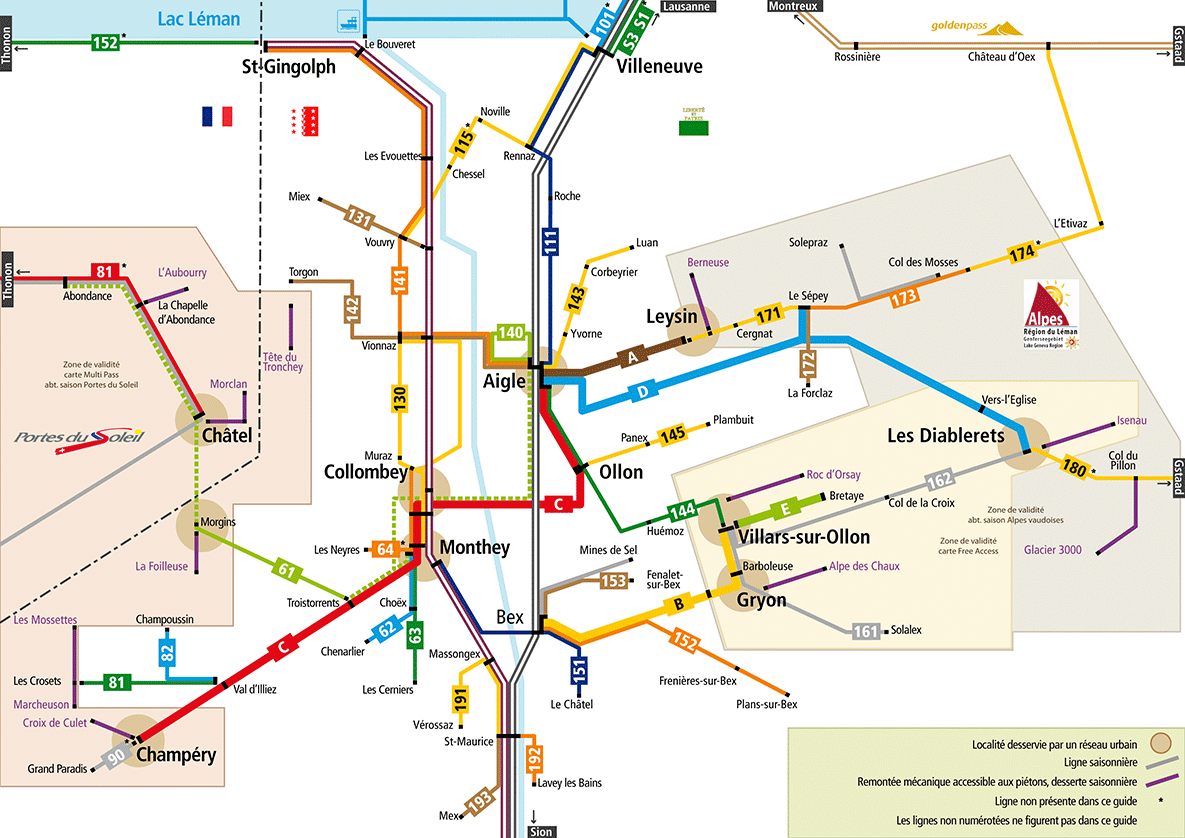 TPC Schematic Map