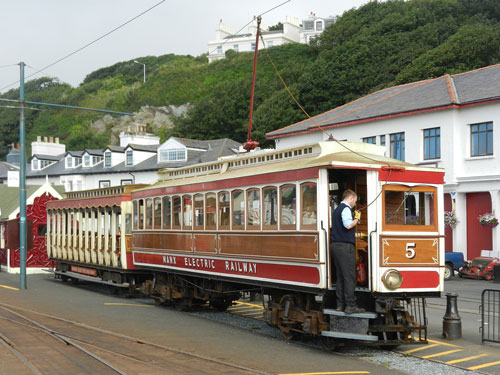 Manx Electric Railway - Photo: ©2013 Mike Tedstone - www.simplompc.co.uk - Simplon Postcards