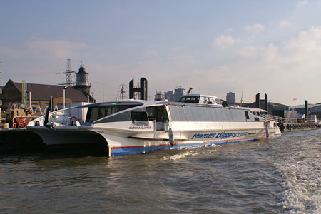 Aurora Clipper - Thames Clippers -  Photo: ©2008 Ian Boyle - www.simplonpc.co.uk