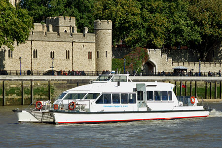 Sky Clipper - Thames Clippers -  Photo: © Ian Boyle - www.simplonpc.co.uk