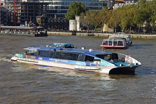 MONSOON CLIPPER - Thames Clipper - www.simplonpc.co.uk - Photo: � Ian Boyle, 16th October 2012