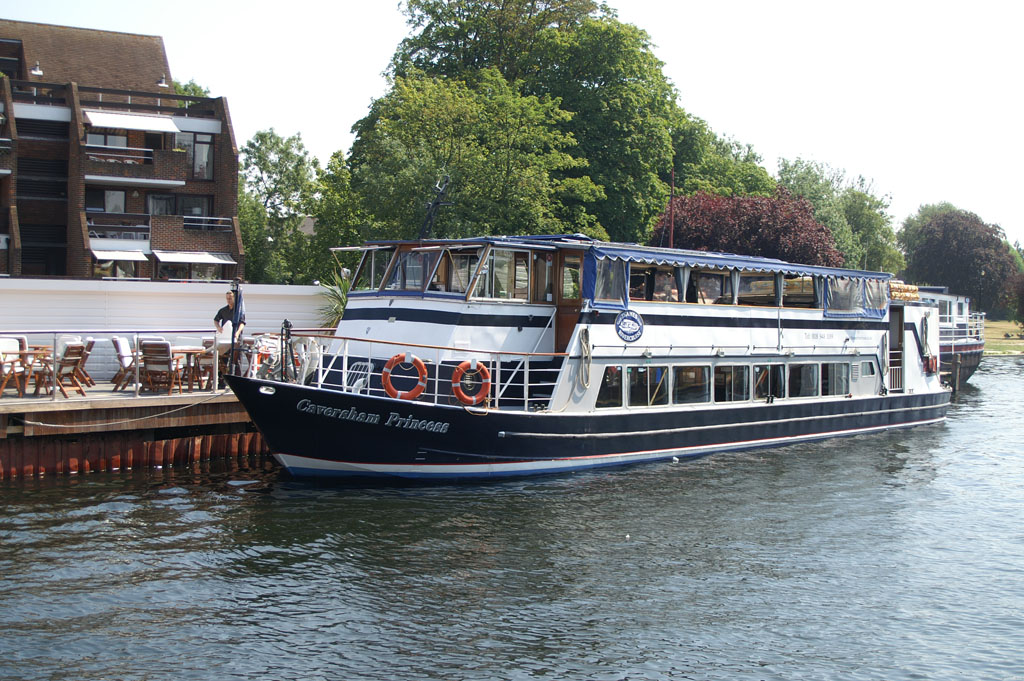 CAVERSHAM PRINCESS - Thames Rivercruises - www.simplon.co.uk