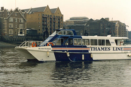 London Docklands - Riverbus
