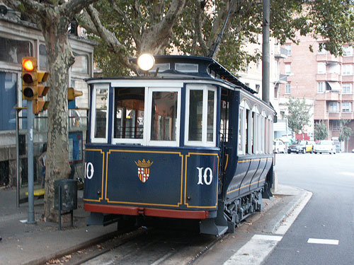 Barcelona Tramvia Blau - Tibidabo - Photo: �2013 Ian Boyle - www.simplonpc.co.uk