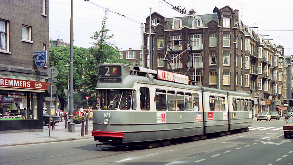 Amsterdam Trams - DPP - www.simplonpc.co.uk