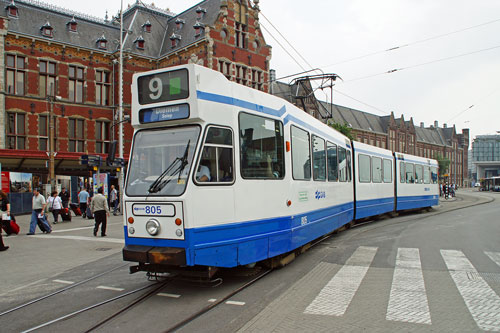 GVB TRAMS - Amsterdam - www.simplonpc.co.uk - Photo: © Ian Boyle, 13th August 2012